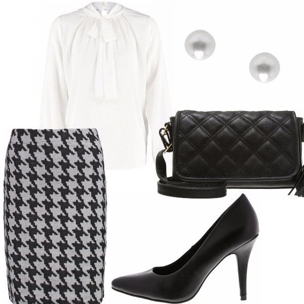 Outfit Woman classic - look in low