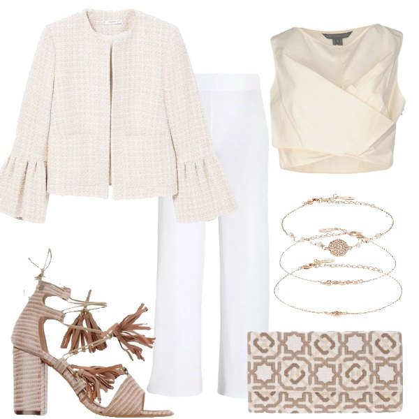 Outfit Stile impeccabile in pantalone