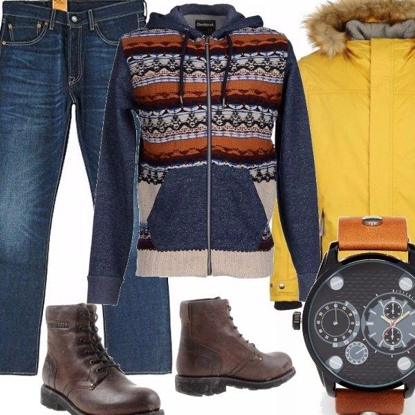 Outfit Look da uomo invernale