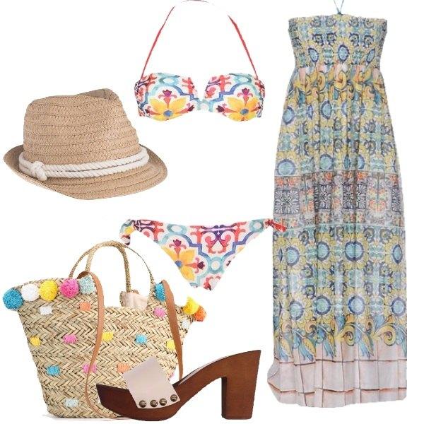 Outfit Pronta per la spiaggia
