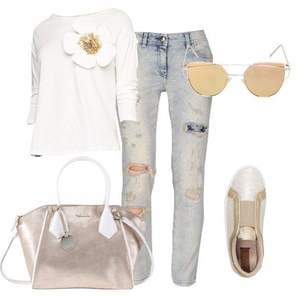 Outfit Un tocco d'oro