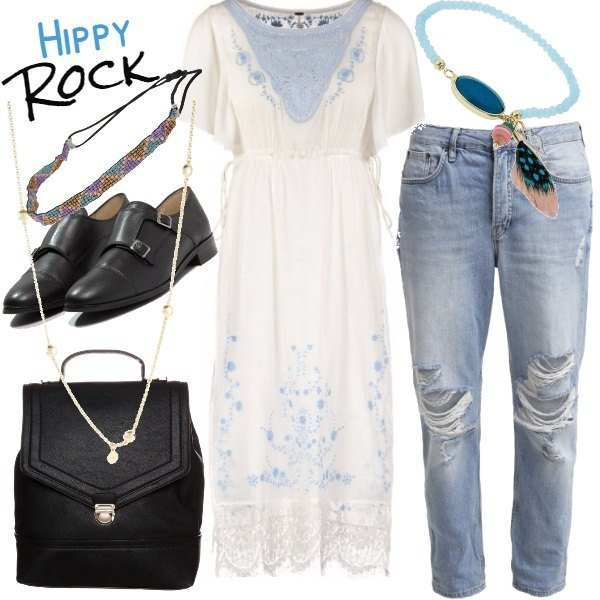 Outfit Hippy Rock