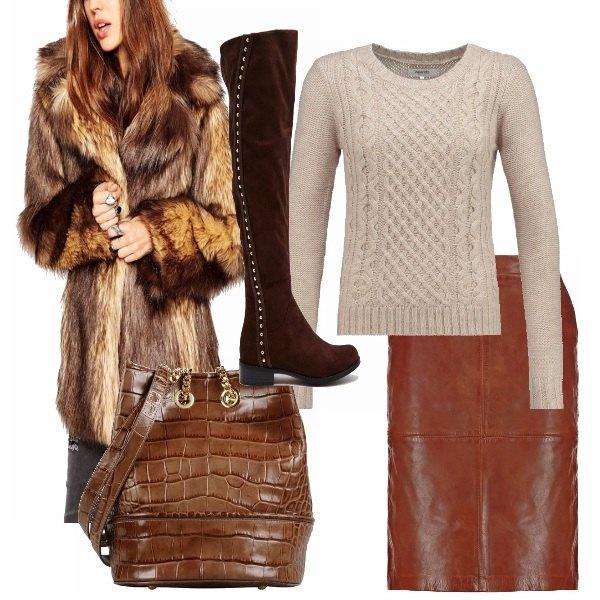 Outfit Comoda, calda e trendy!