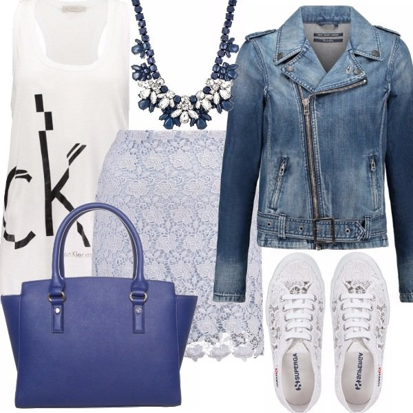 Outfit LACE & DENIM