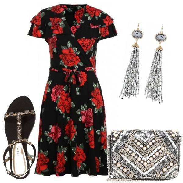Outfit Rose e pietre preziose