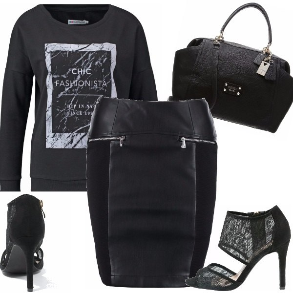 Outfit Chic fashionista