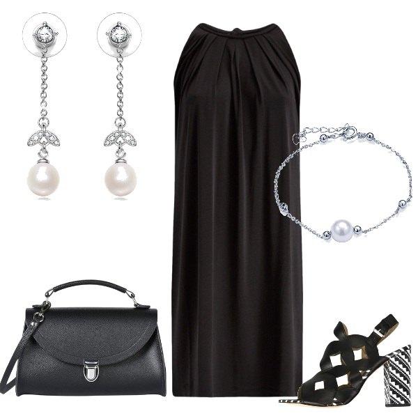 Outfit Un tacco geometrico