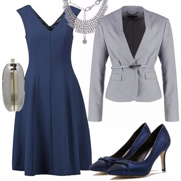 Outfit Matrimonio Uomo Grigio : Nozze d argento outfit donna per cerimonia e serata fuori