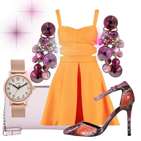 Outfit Tangerine
