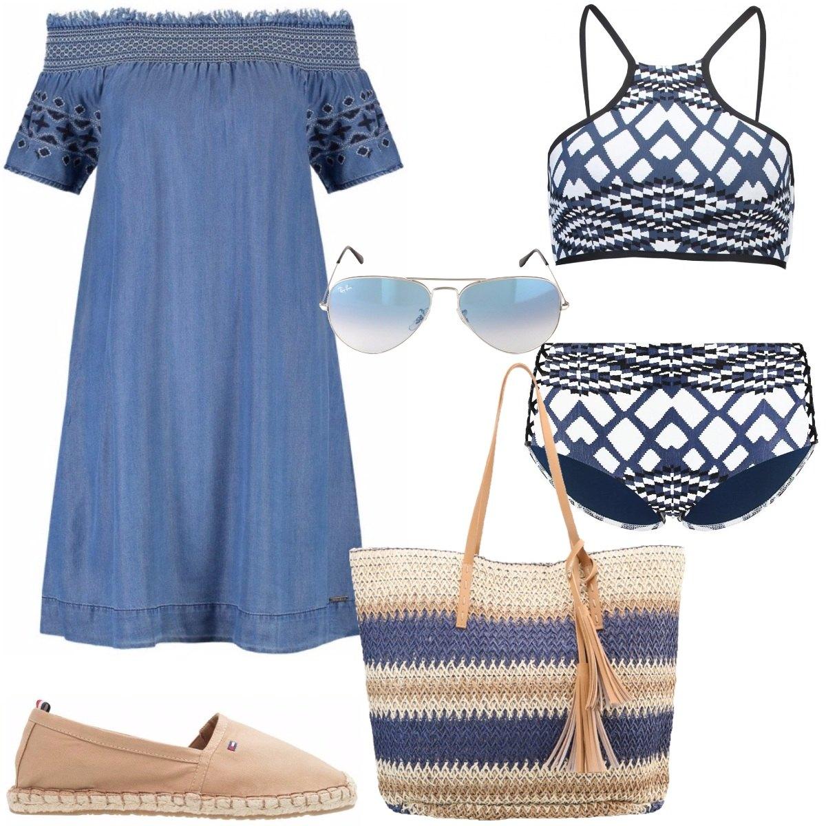 Outfit Vacanza greca