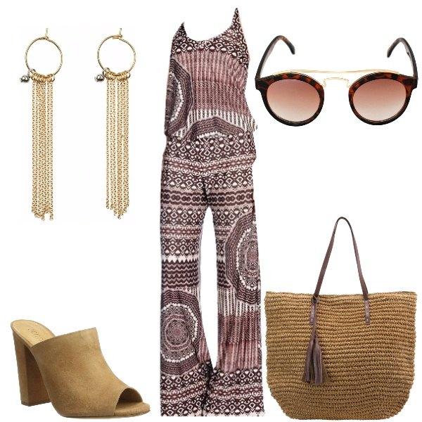 Outfit Jumpsuit boho