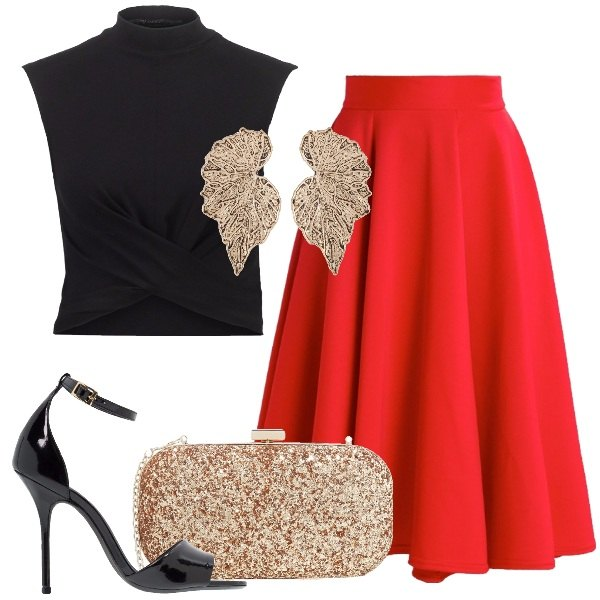 Outfit Bellissima in rosso