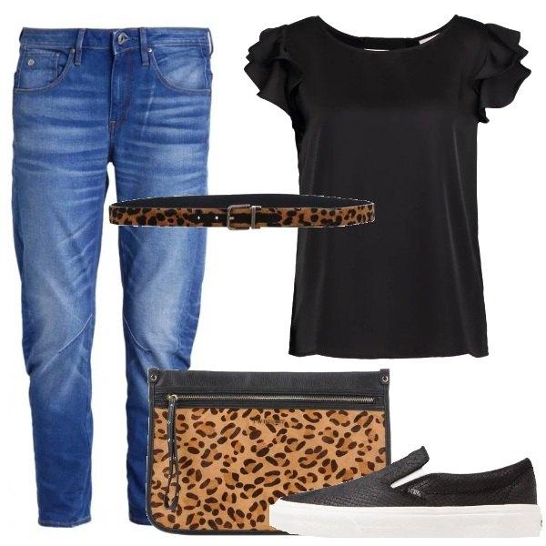 Outfit Dettagli animalier