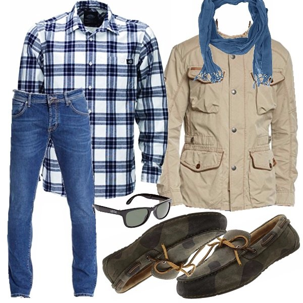 Outfit in moto