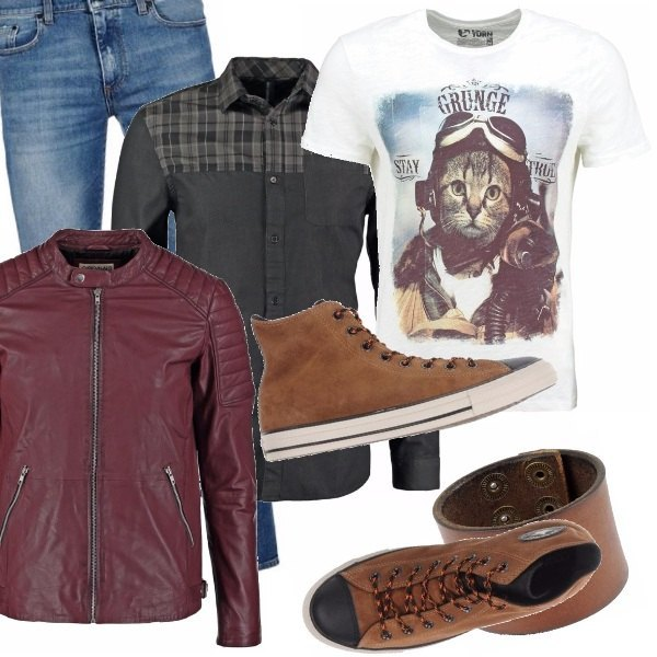 Outfit Grunge boy