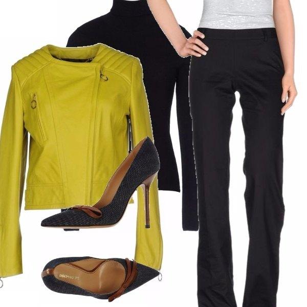 Outfit Giallo oro