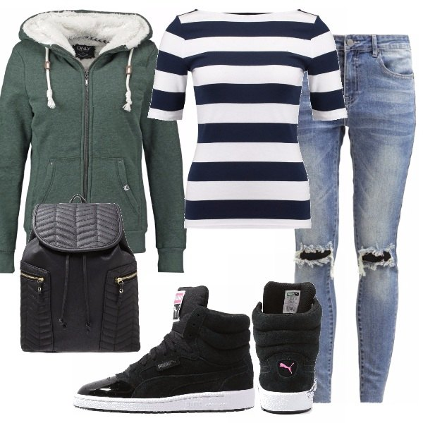Outfit Sportiva ma trendy