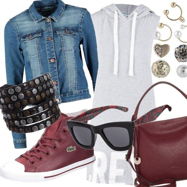 Outfit Marsala Trend