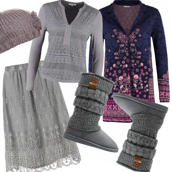 Outfit Bohemien romantica