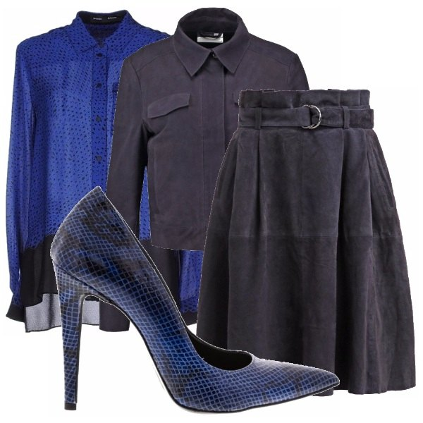 Outfit Blu navy!