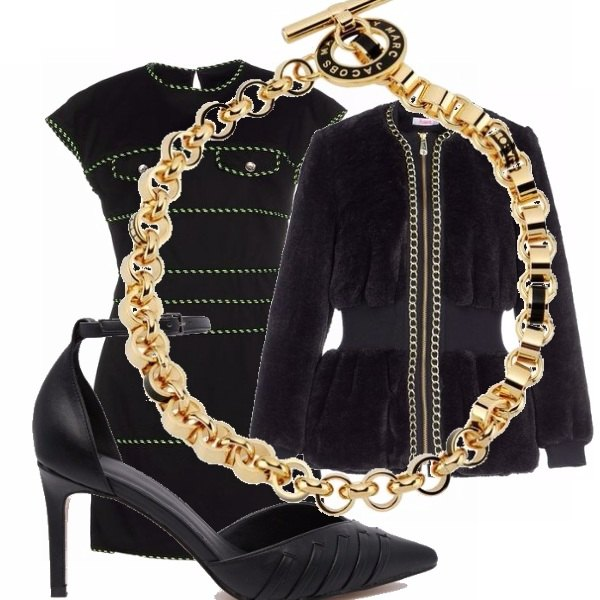 Outfit Chic in pelliccia!