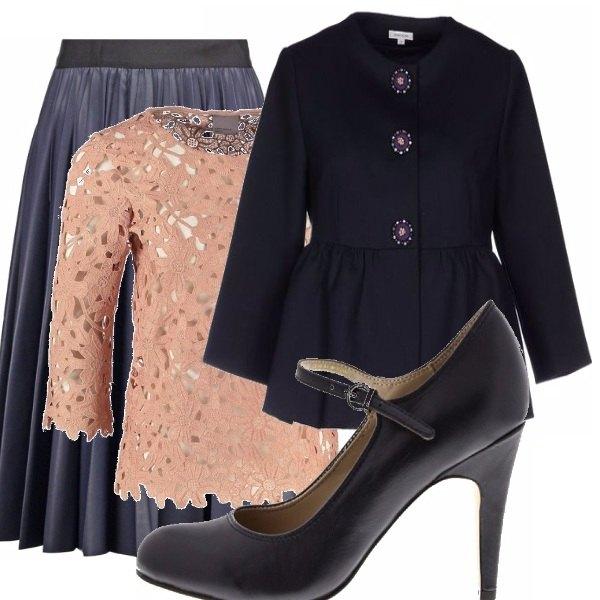 Outfit Blu&cipria_saldi