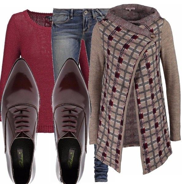 Outfit Cardigan lungo_saldi