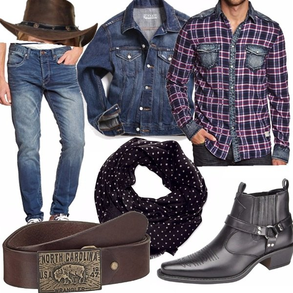 Outfit Cowboy
