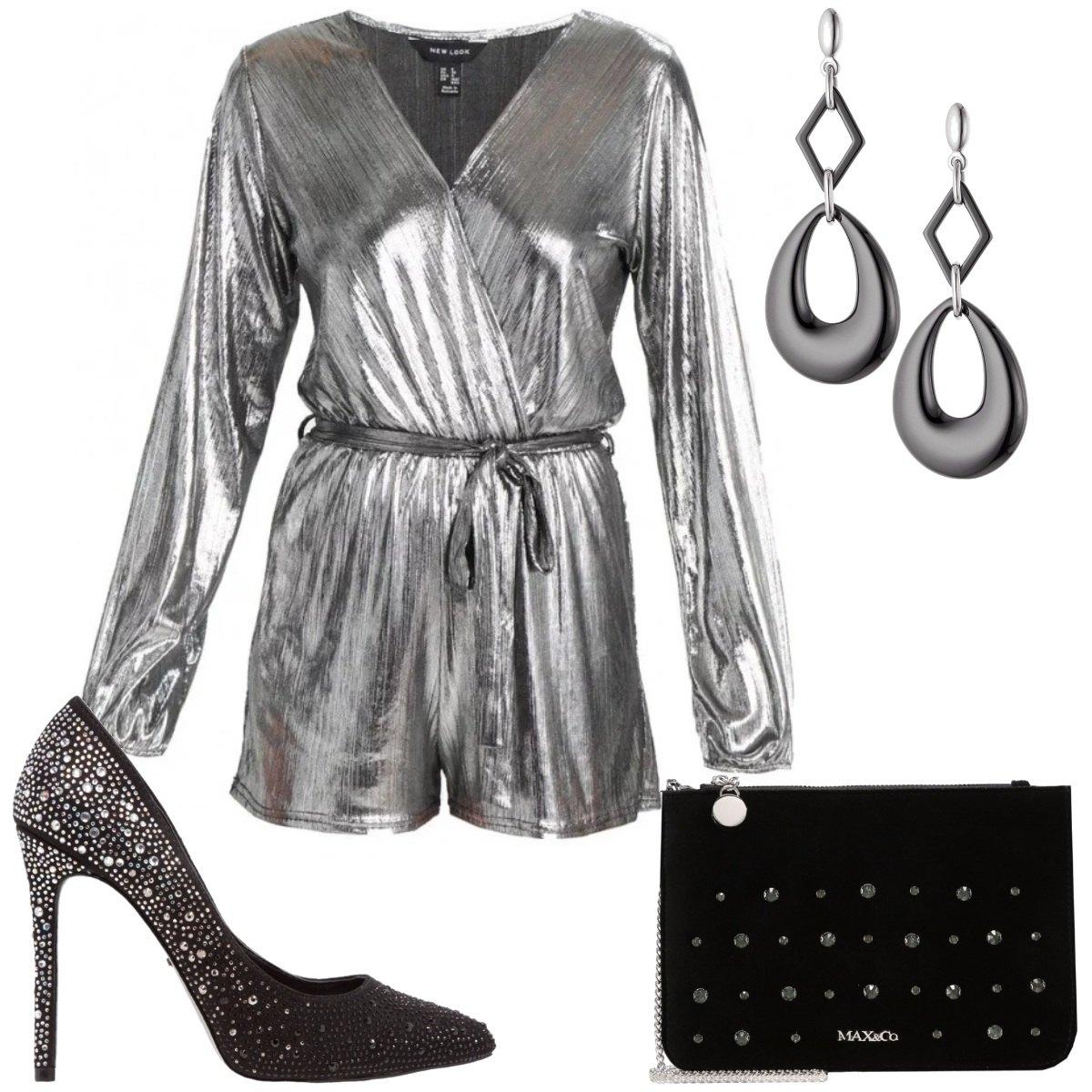 Outfit Bagliori silver