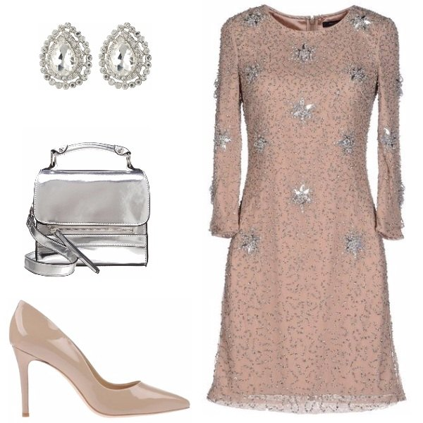 Outfit Romantico nude
