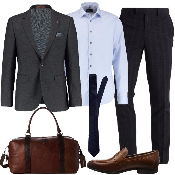 Outfit Matrimonio Uomo Spezzato : Business spezzato outfit uomo elegante per tutti