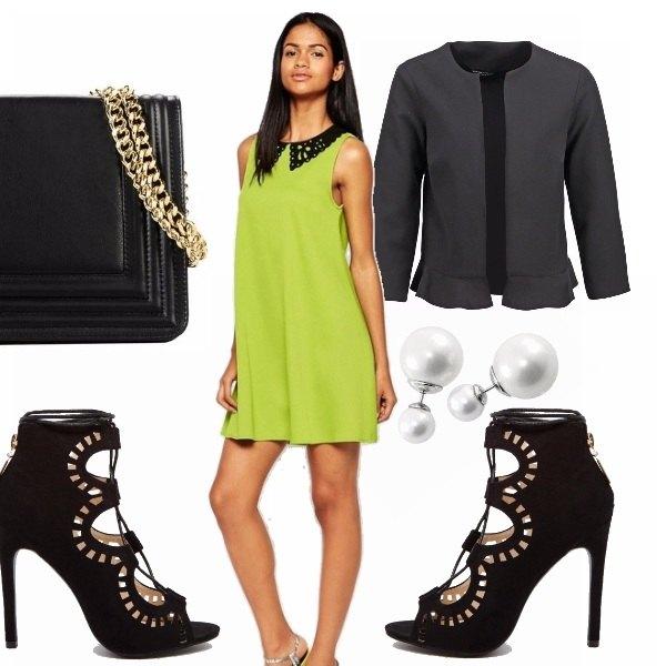 Outfit Bon ton alternativo