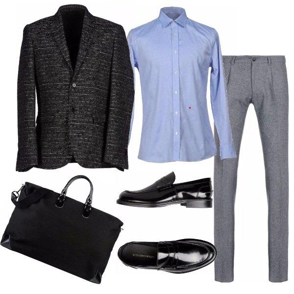 Outfit Matrimonio Uomo Spezzato : Viaggio per lavoro outfit uomo bantoa