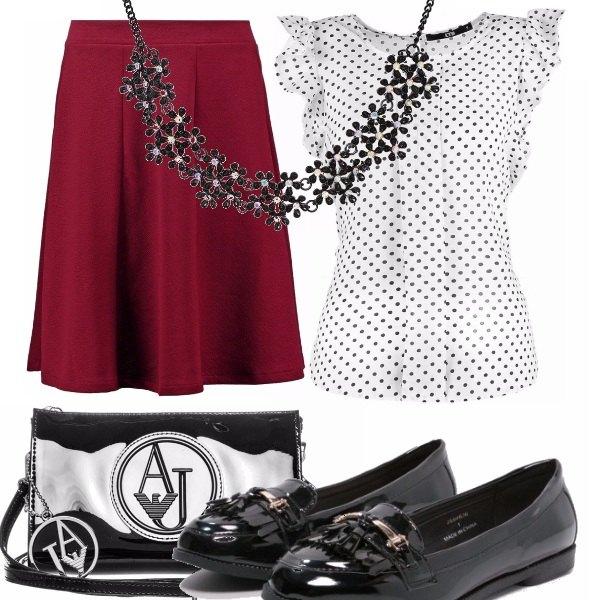Outfit Aperitivo romantico #pera
