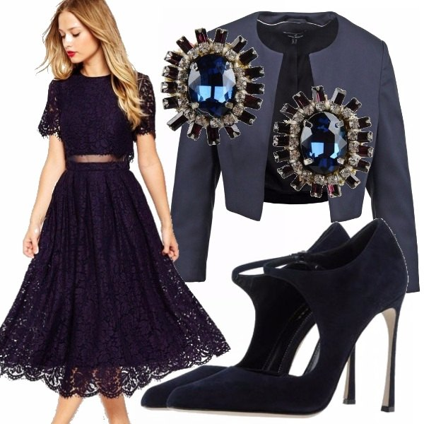 Outfit Blue valentine's day!