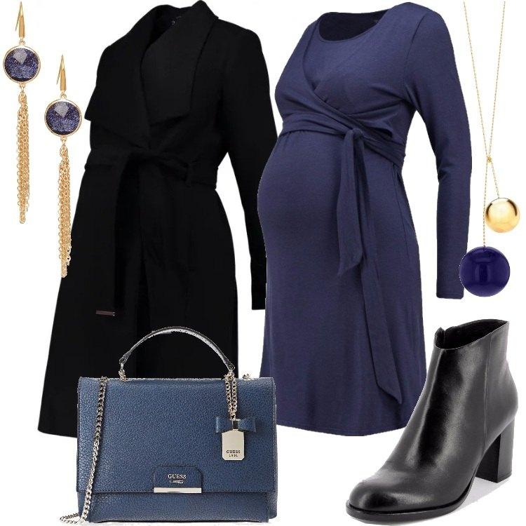 Outfit Abbinare nero e blu