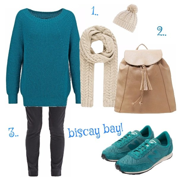 Outfit 1, 2, 3.. biscay bay!