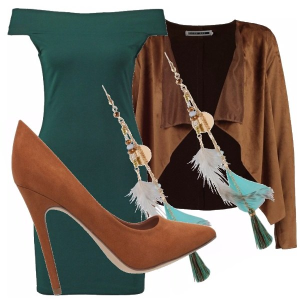 Outfit Suede low cost!