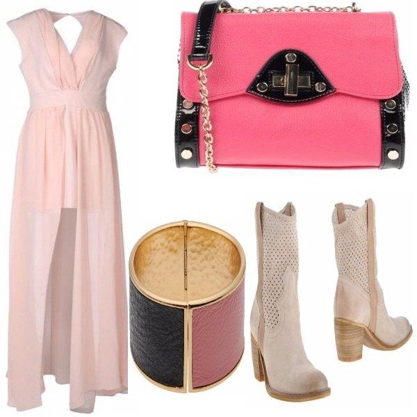 Outfit Rosa di primavera