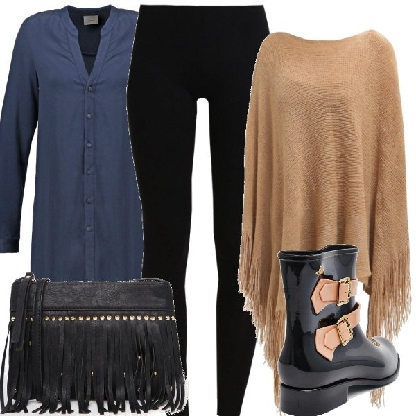 Outfit Leggings & mantella