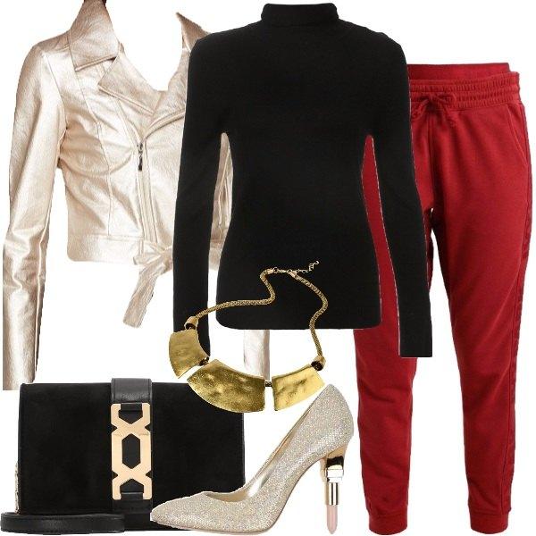 Outfit Décolleté Lipstick