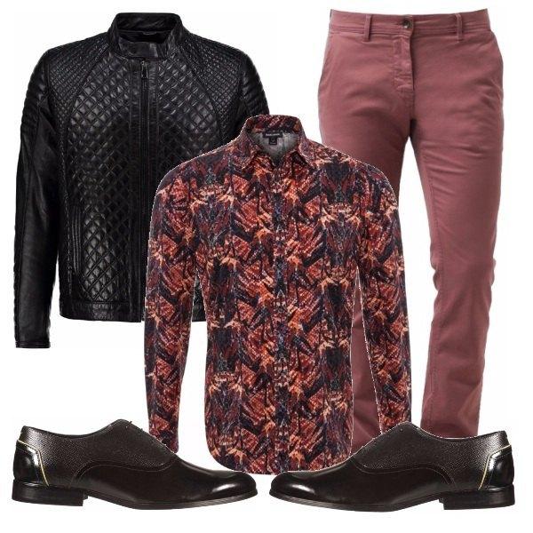 Outfit Marsala Men