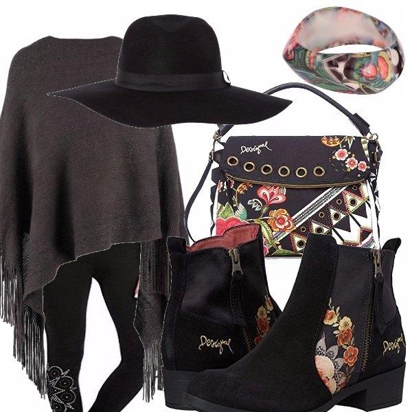 Outfit Leggings e cappello