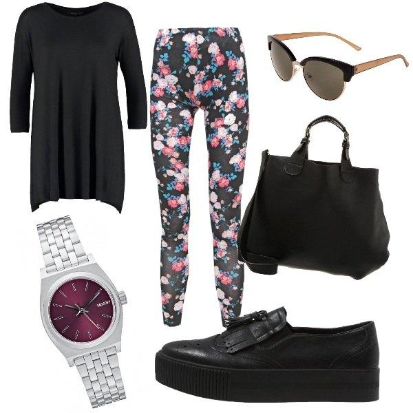 Outfit Leggings e comfort