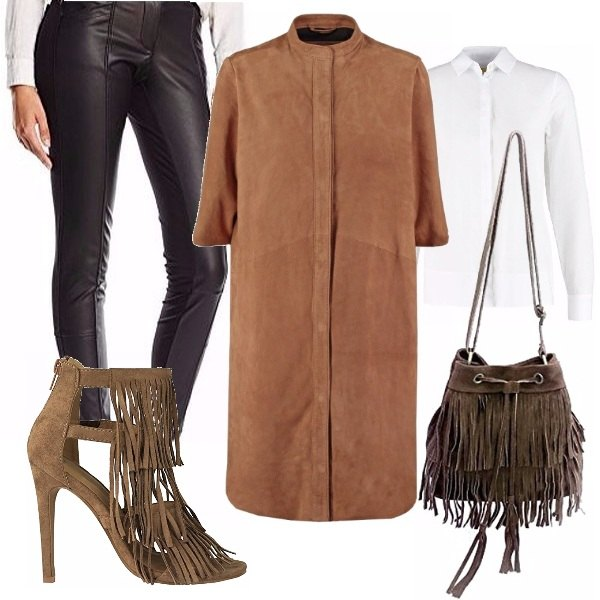 Outfit Camoscio d'oro