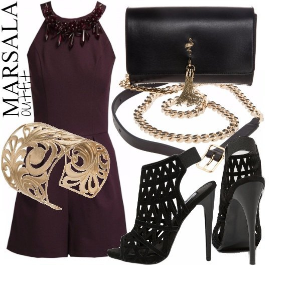 Outfit MARSALA OUTFIT