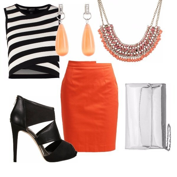 Outfit Rock Orange
