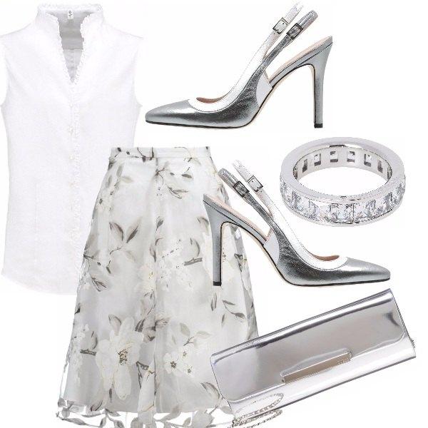 Outfit Per chi ama il bianco e l'argento