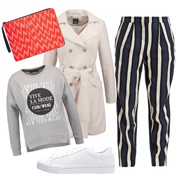 Outfit Tra le righe