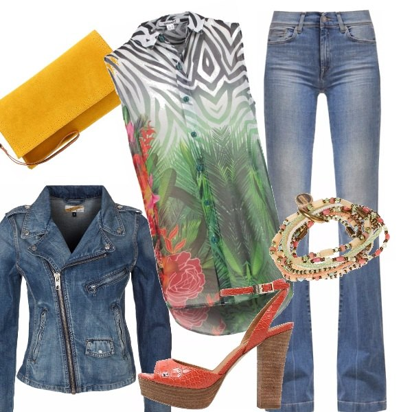 Outfit Jeans & chic